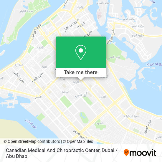 Canadian Medical And Chiropractic Center map