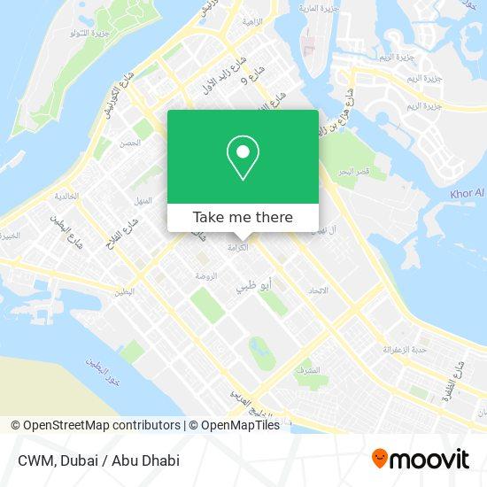 CWM map
