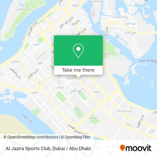 Al Jazira Sports Club map