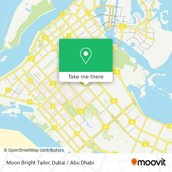 Moon Bright Tailor map