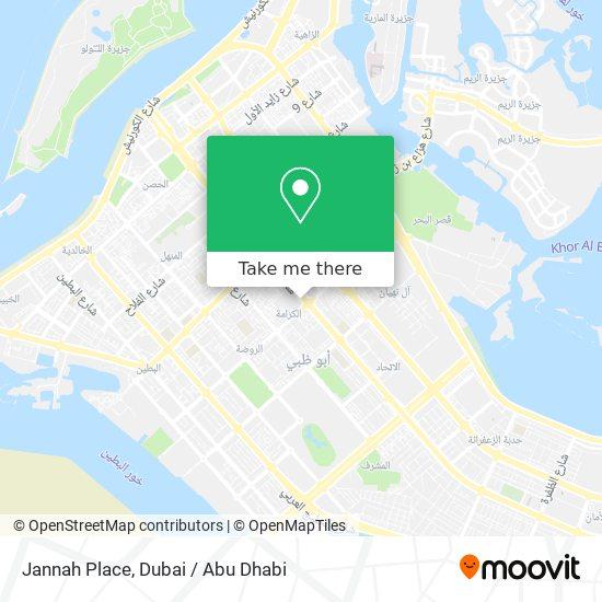 Jannah Place map