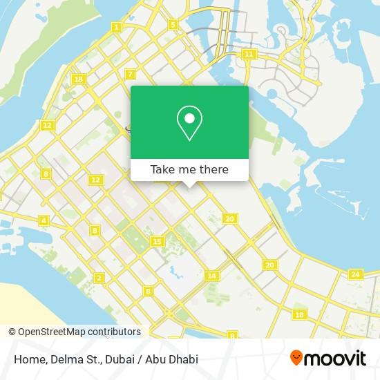 Home, Delma St. map