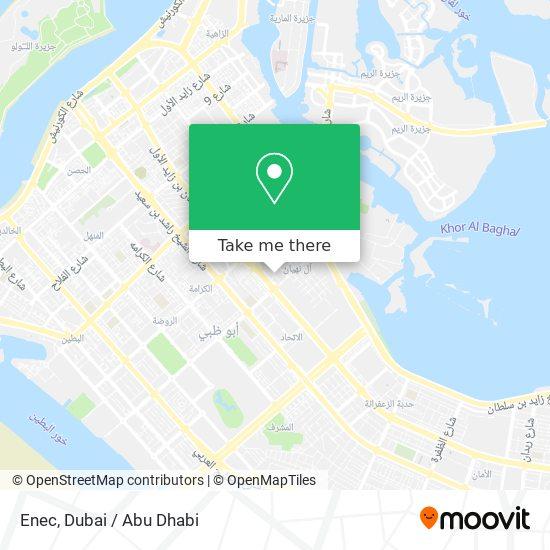 Enec map