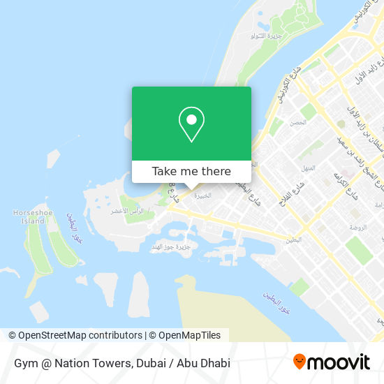 Gym @ Nation Towers map