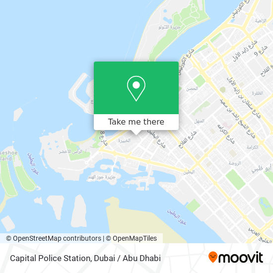 Capital Police Station map