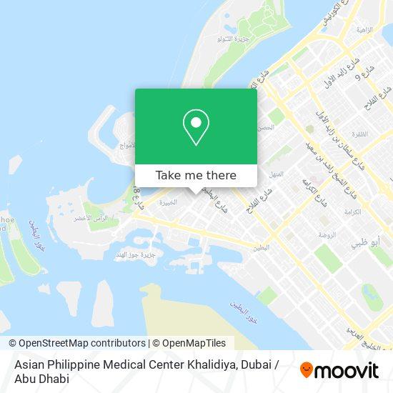 Asian Philippine Medical Center Khalidiya map