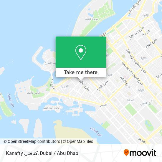 Kanafty كنافتي map