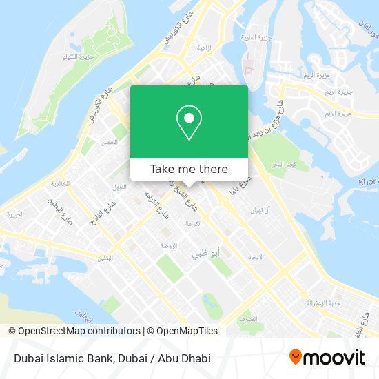 Dubai Islamic Bank map