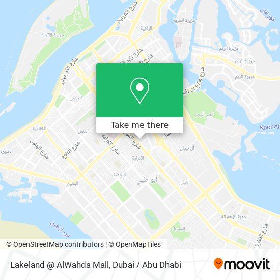 Lakeland @ AlWahda Mall map