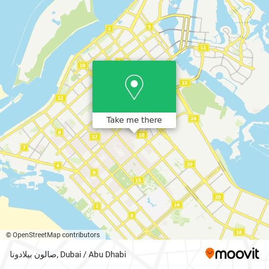 صالون بيلادونا map