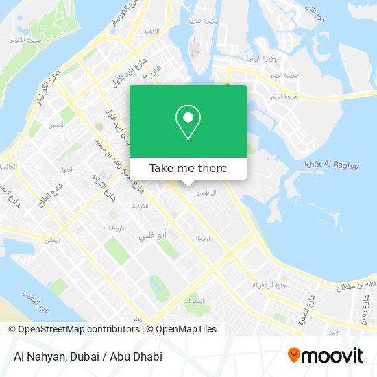Al Nahyan map