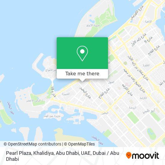 Pearl Plaza, Khalidiya, Abu Dhabi, UAE map