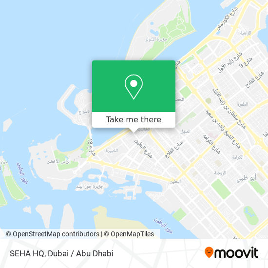 SEHA HQ map