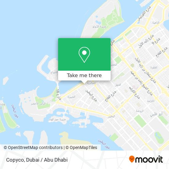 Copyco map