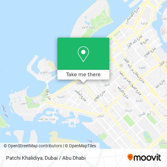 Patchi Khalidiya map