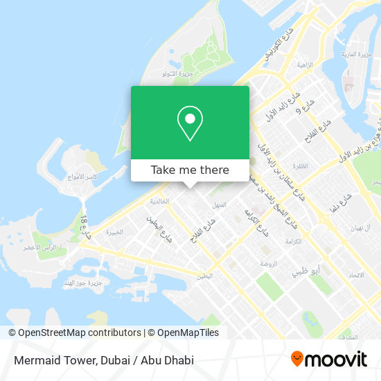 Mermaid Tower map