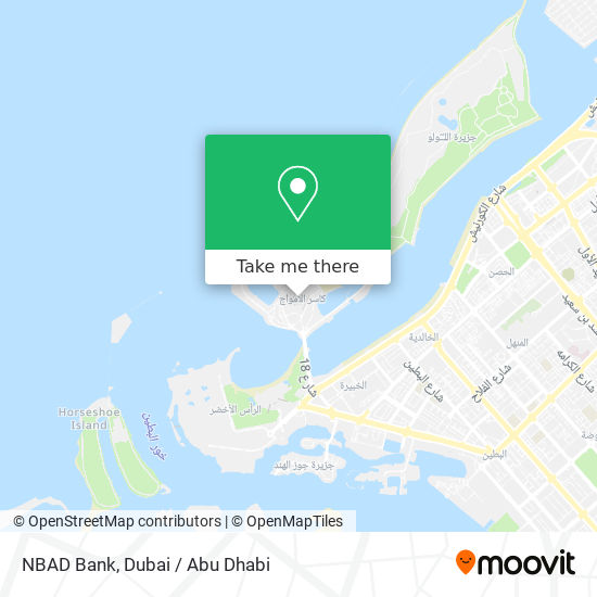 NBAD Bank map