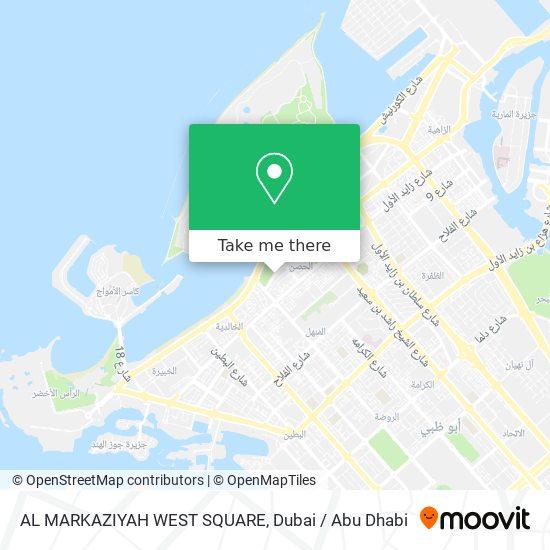AL MARKAZIYAH WEST SQUARE map