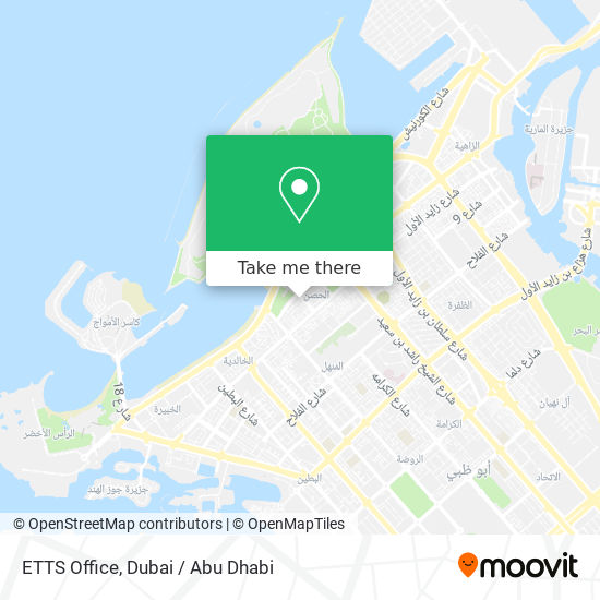 ETTS Office map