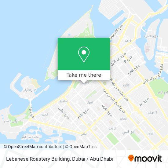 Lebanese Roastery Building map
