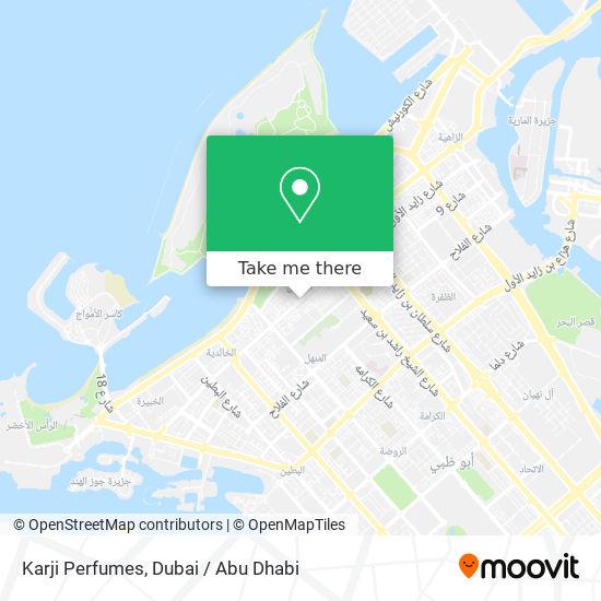 Karji Perfumes map