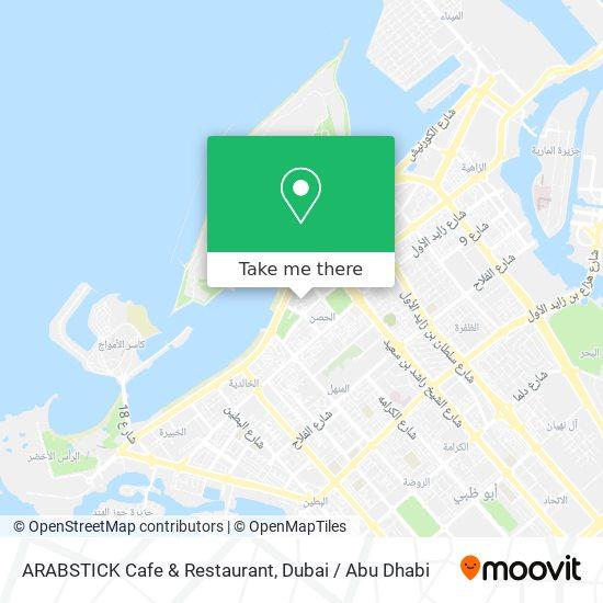 ARABSTICK Cafe & Restaurant map