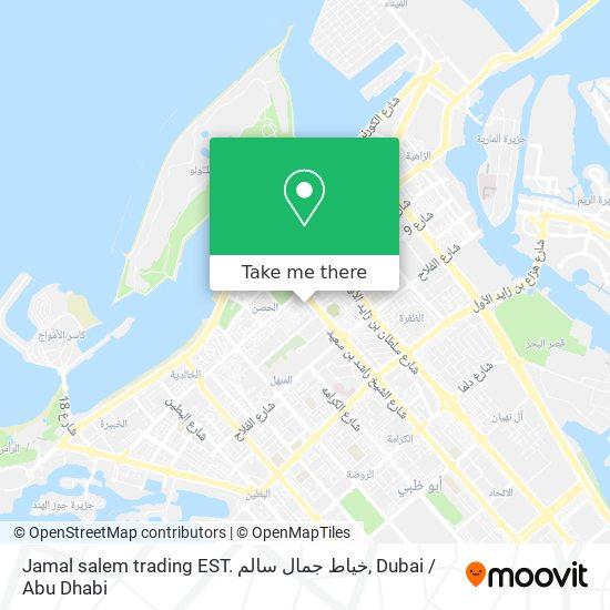 Jamal salem trading EST. خياط جمال سالم map