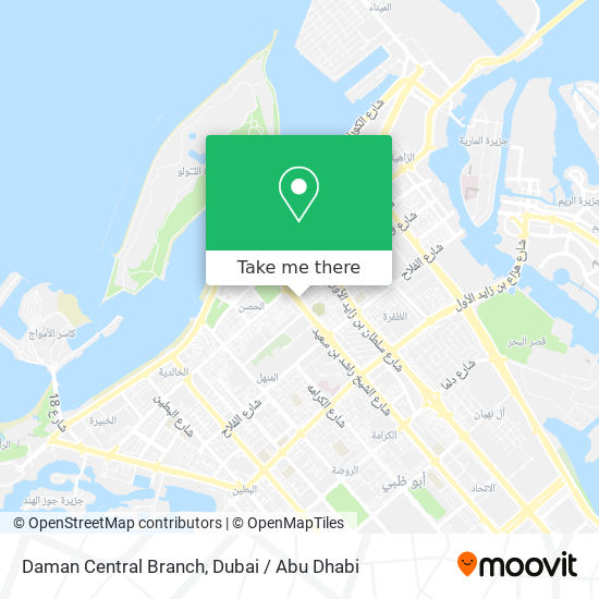 Daman Central Branch map