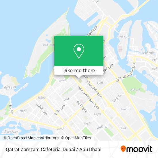 Qatrat Zamzam Cafeteria map