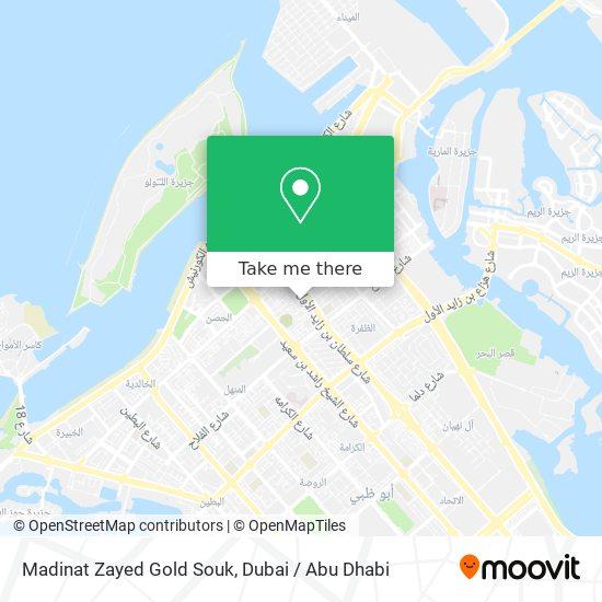 Madinat Zayed Gold Souk map