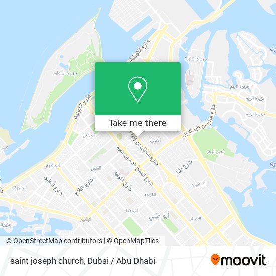 saint joseph church map