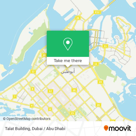 Talat Building map