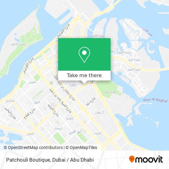 Patchouli Boutique map