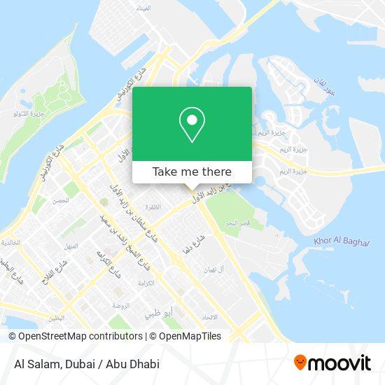 Al Salam map