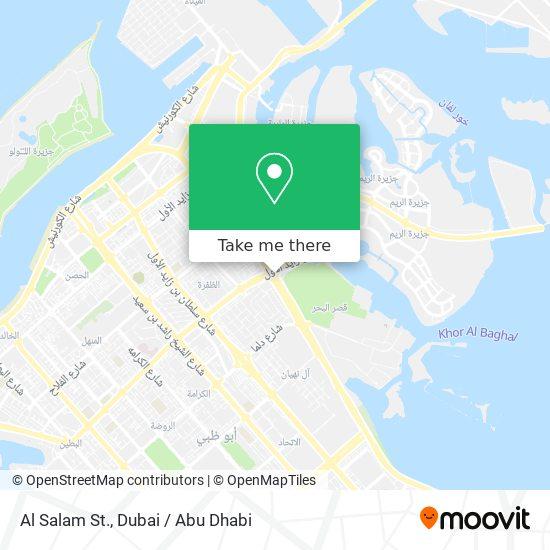 Al Salam St. map