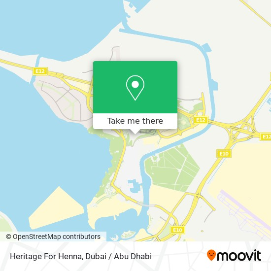 Heritage For Henna map