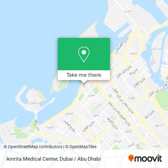 Amrita Medical Center map