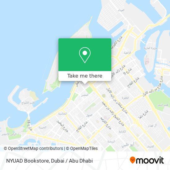 NYUAD Bookstore map