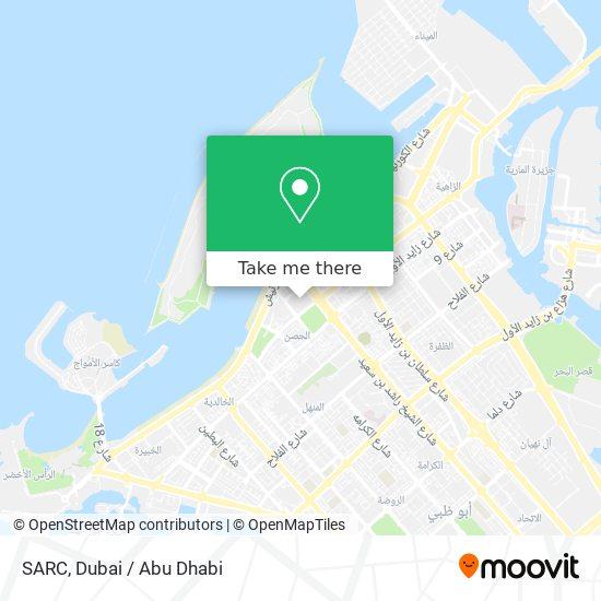 SARC map