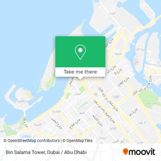 Bin Salama Tower map
