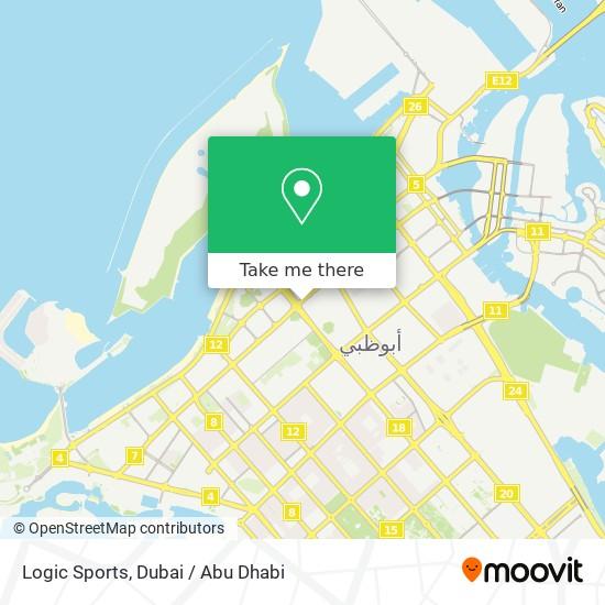 Logic Sports map