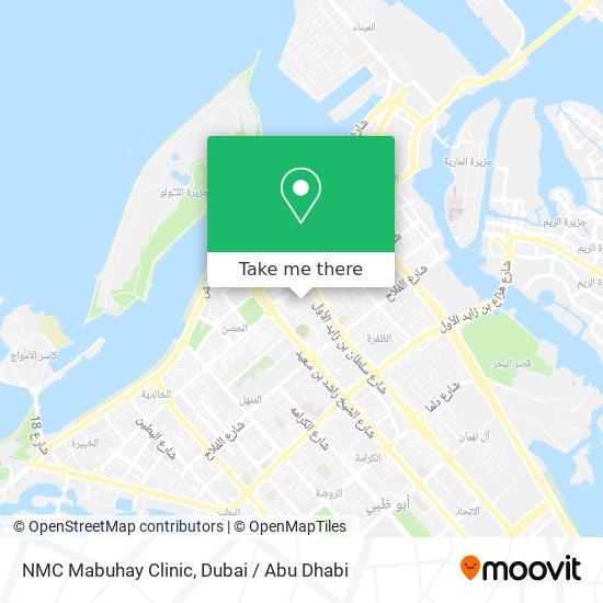 NMC Mabuhay Clinic map