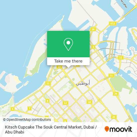 Kitsch Cupcake The Souk Central Market map