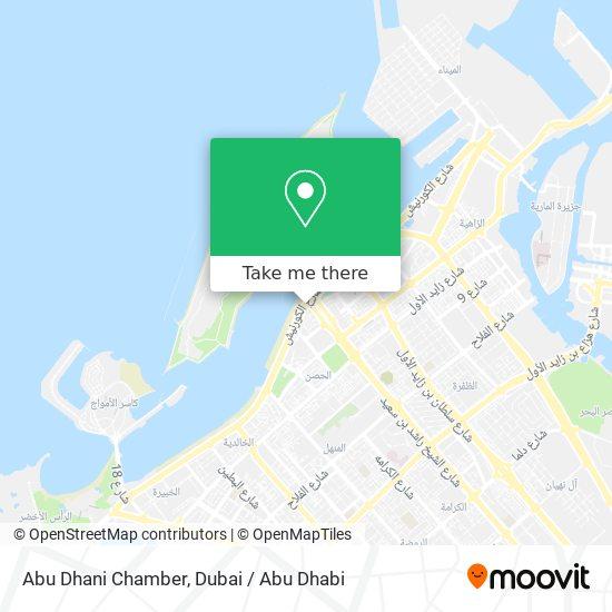 Abu Dhani Chamber map