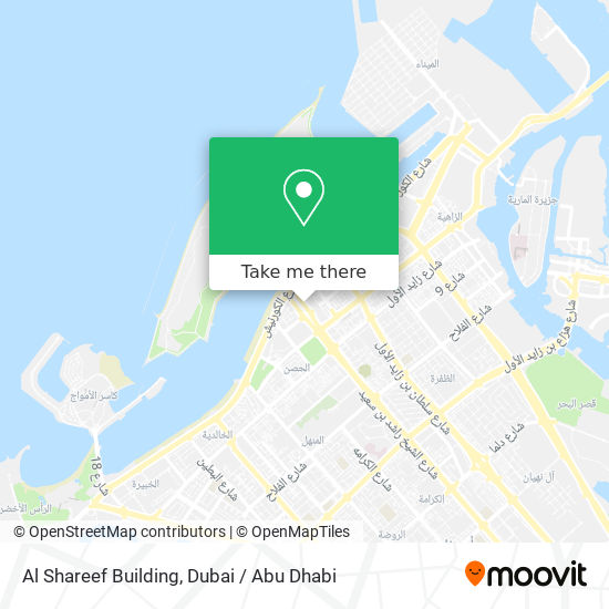 Al Shareef Building map