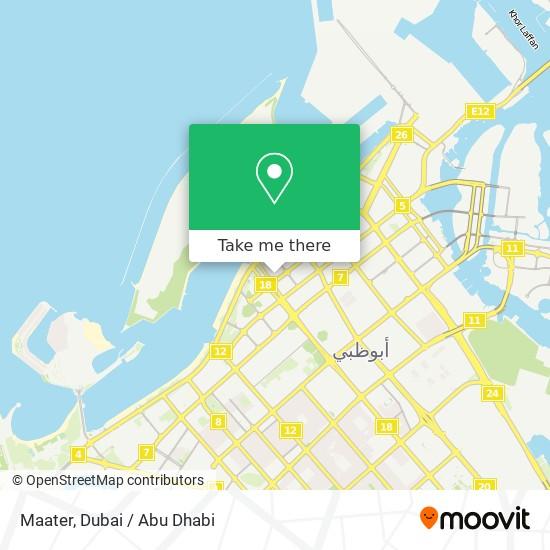 Maater map