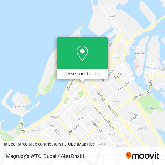 Magrudy's WTC map