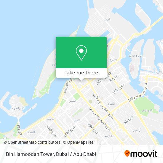 Bin Hamoodah Tower map