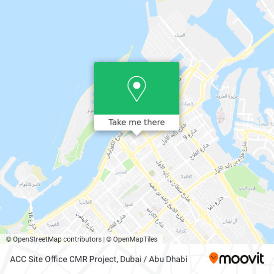 ACC Site Office CMR Project map