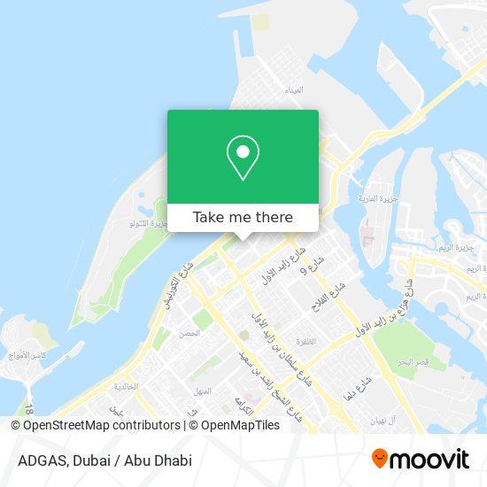 ADGAS map